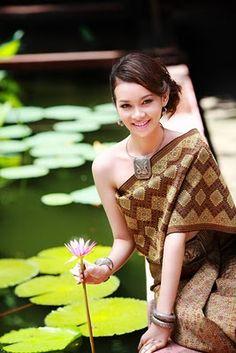 Laos traditional dress