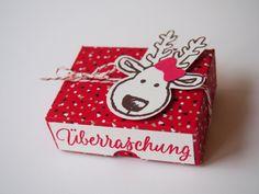 """Kleine Box aus dem DSP """"Zuckerstangenzauber"""" mit dem knuffigem Rentier aus """"Ausgestochen weihnachtlich"""" - luxusbasteln.wordpress.de"""