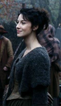 claire, outlander, rents...episode 5, but look at her shawl.