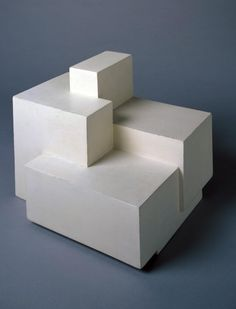 Ben Nicholson OM 'circa 1936 (sculpture)', © Angela Verren Taunt All rights reserved, DACS Level Structure and Clarity, Room 2 Geometric Sculpture, Abstract Sculpture, Abstract Art, Plaster Sculpture, Art Sculpture, Modernisme, Modelos 3d, 3d Prints, Light And Shadow
