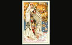 20 Cute and Creepy Vintage Halloween Cards   Mental Floss