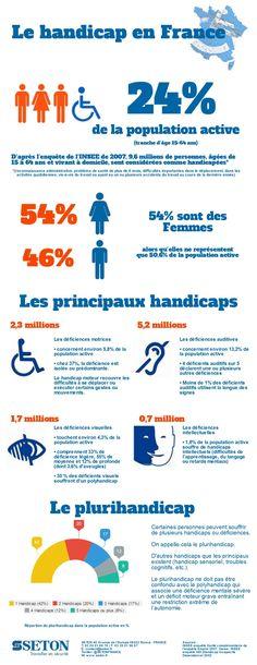 infographie - le handicap en france | la science et la technologie