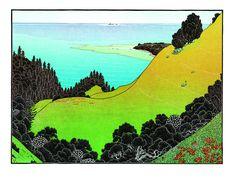 tom killion woodcut print