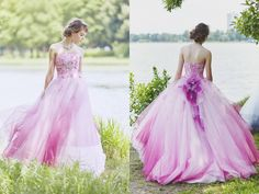 Rainbow tulle tlc s say yes to the dress rainbows for Rainbow wedding dress say yes to the dress
