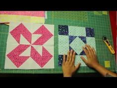 ▶ How to square up quilt blocks - YouTube