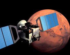 La Mars Express cumple diez años: Una década en el planeta rojo. Mira la galería de fotos: http://www.muyinteresante.es/ciencia/fotos/la-mars-express-cumple-diez-anos/10mars-express ¡Pura Ciencia! #science #ciencia