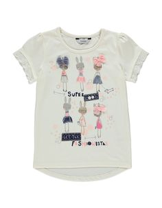 Bunny T-shirt | Girls | George at ASDA