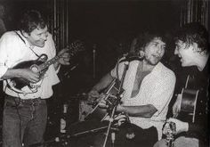 Rick, Dylan and Levon