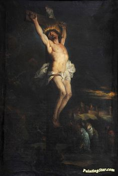 Christ on the Cross Artwork by Hyacinthe Rigaud