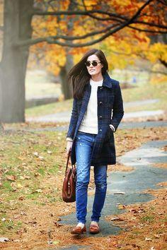 Fall coat, casual
