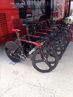 BMC RACING TEAM's TT bikes