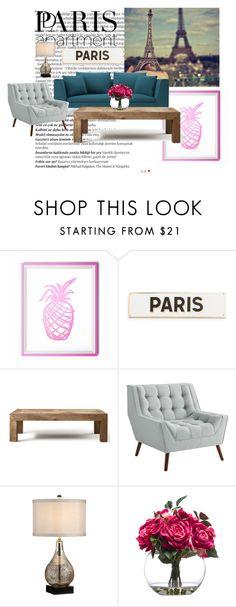 """Paris"" by i-m-penguin-purple974 ❤ liked on Polyvore featuring interior, interiors, interior design, home, home decor, interior decorating, Balmain, Rosanna, Flamant and Lux-Art Silks"