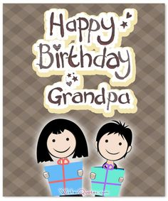 Happy birthday grandfather