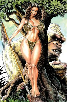 Cavewoman Pangaean Sea #11 Internet Exclusive Cover