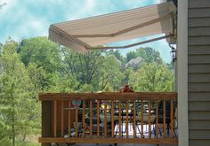 The Eclipse features smooth clean lines in its powder-coated aluminum frame, stainless steel hardware and over 900 lbs. of spring tension in its lateral arms. This insures a great looking high performance awning.