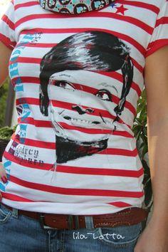 7e6c397f9ef Audrey Hepburn T-shirt self made