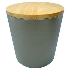 Large melamine canister - Threshold, Grey
