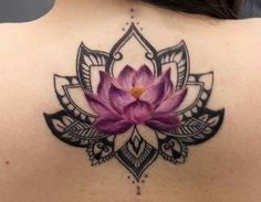 When it comes tattooing floral tattoos; the lotus flower tattoo comes on top of that. These tattoo designs are not merely charming but are also practiced due to rich meaning. Lotus Mandala Tattoo, Lotus Flower Tattoo Design, Lotus Flower Mandala, Tattoo Flowers, Lotus Flowers, Mandala Colour, Lotus Design, Lotus Flower Tattoos, Floral Tattoos
