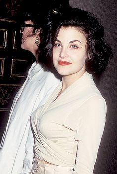 Sherilyn Fenn photographed by Ron Galella at the ABC Summer TCA Press Tour on July 22, 1990 at the Century Plaza Hotel in Century City, California