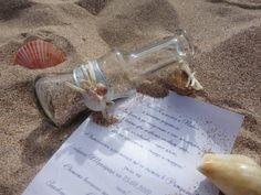 Вдъхновени от пясъка, морските вълни и романтичните залези  ARI Style weddings - сватбена покана  тематична морска сватба