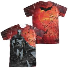 Batman Begins - Frenzy Adult All Over Print 100% Poly T-Shirt