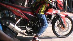 V-1 HONDA Dragbike Championship Duel OMR Sonic Std 155cc Khusus Pelajar ...
