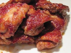 Raspberry Chicken - You can throw all of the ingredients together in a freezer bag (unncooked) and freeze up to 3 months