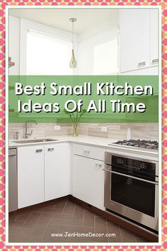 Small Kitchen Ideas to Steal So You Never Feel Claustrophobic Again. Hello, sky-high cabinets and mirrored backsplashes. Decorating Kitchen, Kitchen Decor, Mirror Backsplash, Modern Spaces, Sky High, Country Kitchen, Kitchen Ideas, Kitchen Cabinets, Simple
