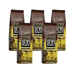 Cafe 1820 Molido - Costa Rica Gourmet Ground Premium Coffee - 17.6 oz (500 gr) 5 Pack * You can get additional details at the image link.