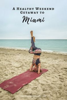 The best weekend getaway in Florida requires a balance of luxury, fitness, culture and cocktails. That's what we found in South Beach, Miami. This South Beach travel guide features the best South Beach Miami restaurants, where to eat in South Beach, where to stay in South Beach and where to workout in South Beach Miami. | South Beach Diet | South Beach Fitness | #southbeach #southbeachdiet #southbeachmiami @thefittraveller