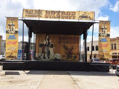 The Stageline mobile stage will make your event stand apart for any outdoor concert need and for any climate, weather conditions, and wind concerns. Concert Stage, Bud Light, Stage Design, Weather Conditions, Festivals, Theater, Birthdays, Track, Backyard