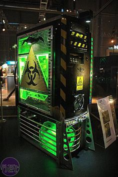 That is an awesome case mod design! Let's just hope it isn't HAZARDOUS to whoever uses it! (Get the joke?)