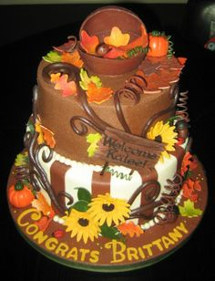 Fall Inspired Baby Showers | Pin Fall Baby Shower Themes Parenting Squad Cake on Pinterest