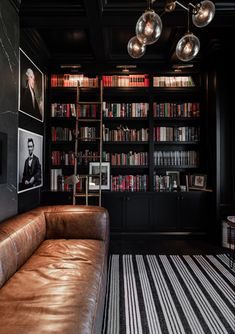 Dream Home Design, Home Office Design, Home Office Decor, Home Interior Design, Interior Architecture, House Design, Home Decor, Home Library Rooms, Home Libraries