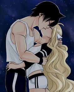Zervis for ever - Fairy Tail ~ DarksideAnime Ils ressemblent au ying yang mais ils ont tellement mignoooon ! ❤