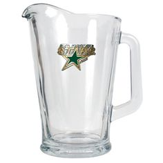 Dallas Stars 60 oz. Glass Pitcher: An officially NHL licensed 60oz glass pitcher decorated with a… #sports #sportsshopping #sportswear