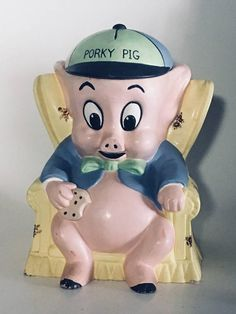 Porky Pig Cookie Jar