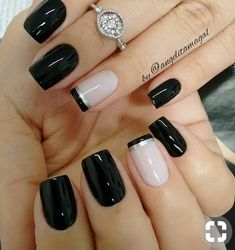 50 Awesome French Tip Nails to give your manicure another dimension - Most Trending Nail Art Designs in 2018 French Nails, French Pedicure, French Manicures, French Nail Polish, French Toes, Gel Polish, Acrylic Nail Designs, Nail Art Designs, Nails Design