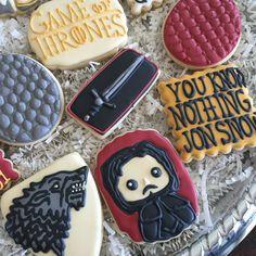 Game of Thrones cookies