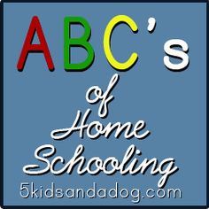 abcs of home school  @David Nilsson-Kendel Williams -- are you still looking for homeschool ideas??