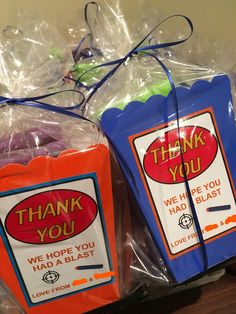Nerf Party Favours
