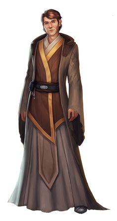 - Jedi Costume - Ideas of Jedi Costume - Star Wars Characters Pictures, Sci Fi Characters, Star Wars Rpg, Star Wars Jedi, Sith Costume, Jedi Robe, Star Wars Design, Starwars, Jedi Sith