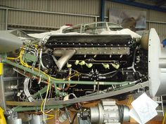 Take a look at the stunning restoration of the world's only flying Mosquito, Aircraft Engine, Ww2 Aircraft, Military Aircraft, De Havilland Mosquito, Air Force Aircraft, Royal Air Force, Aviation Art, Restoration, Airplanes