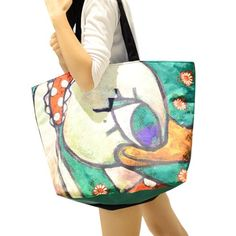 Find More Shoulder Bags Information about new 2014 Painting Girl On The casual canvas bag fashion brand women big tote bag larger shoulder bags Cartoon Handbags Z5,High Quality handbag dropshipper,China handbag organizer Suppliers, Cheap handbags less from Wenzhou Cathylin International Trade Co., Ltd. on Aliexpress.com