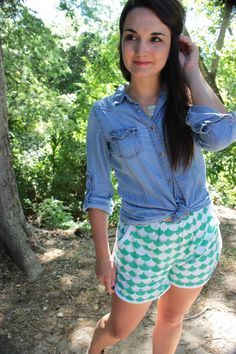 Prefontaine Shorts for Perfect Pattern Parcel