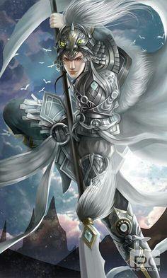 Fantasy Male, Fantasy World, Soulcalibur V, Asian Artwork, Vision Art, Dynasty Warriors, Airbrush Art, China Art, Fantasy Costumes