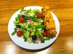 Greek Salad & Mini Chimney www.chimneycakebakers.com