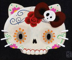November 1 = Hello Kitty's Birthday and also Day of the Dead (and Hanh's Birthday)  :)