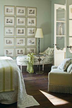 Bedroom- lovely French doors