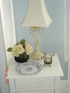 nightstand, budget decorating